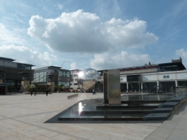 Millennium Square and Planetarium